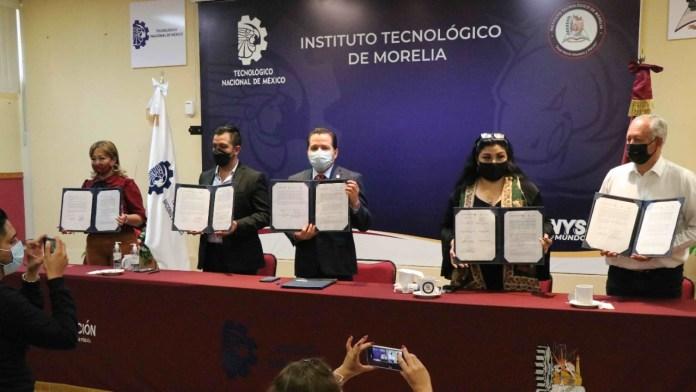 ITM celebra convenio de colaboración con la Fábrica Académica de Software