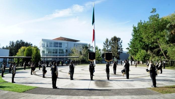 La Banda de Guerra de la Universidad Michoacana de San Nicolás de Hidalgo
