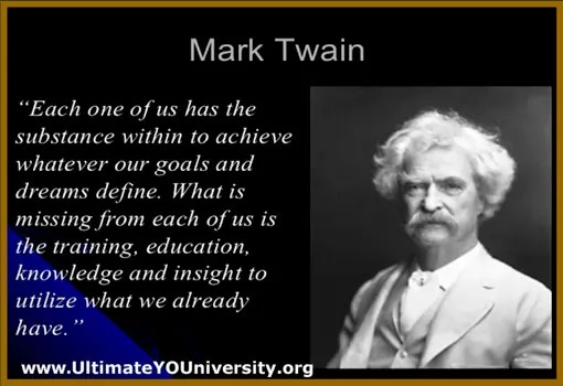 Ultimate YOUniversity Mark Twain