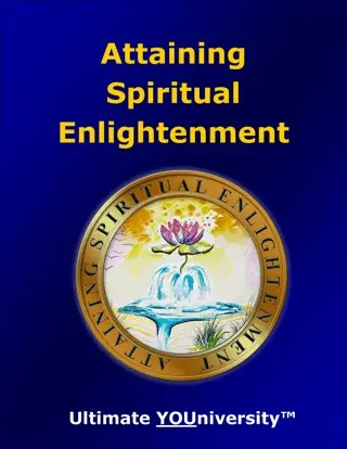 Attaining Spiritual Enlightenment