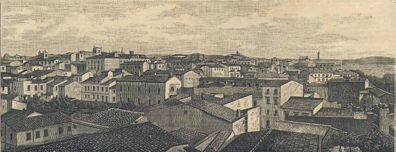 xxxxView of Sassari from the Meteorogical Observatory of the University (The hundred cities of Italy, September 1891)