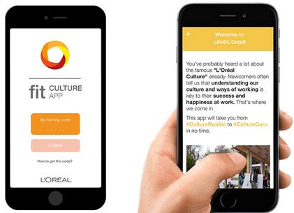 oreal-application-mobile