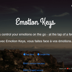 Avec Emotion Keys, je fais face à mes émotions.