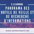 Panorama des Outils de Veille et de recherche d'informations