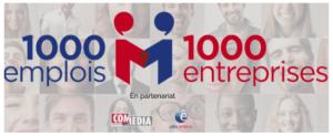 1000 emplois 1000 entreprises