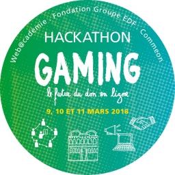 hackathon - Gaming - don en ligne