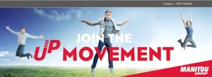 """Join the Up Movement"" avec le groupe Manitou"