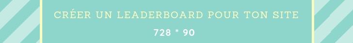 Créer un Leaderboard pour ton blog _ Site