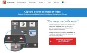 Screenpresso pour réaliser à la volée vos captures d'écran et les enrichir