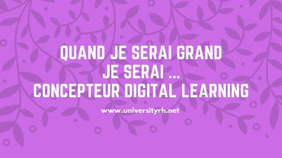 offres emplois Concepteur digital learning