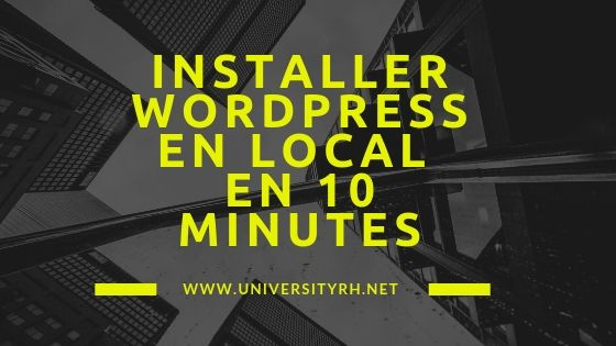 20 étapes pour installer wordpress en local avec WAMP