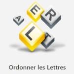Ordonner les Lettres