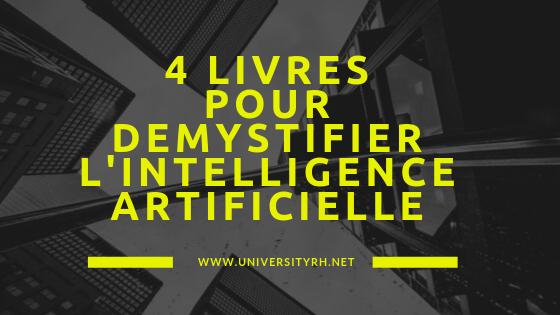 4 livres pour démystifier l'intelligence artificielle