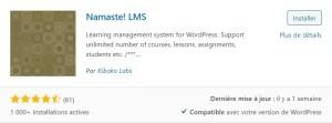 Namaste! LMS pour bien commencer avec un LMS de qualité et fiable