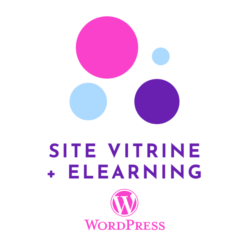 site vitrine - elearning wordpress