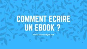 Etape 3 Comment écrire un Ebook