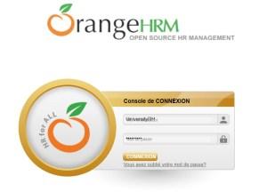 orangeHRM-se-connecter