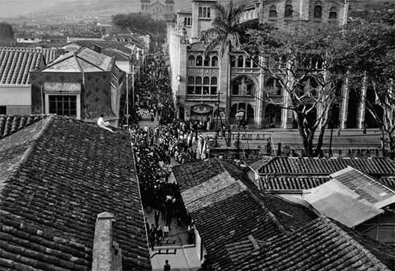 Procesión del Sagrado Corazón de Jesús. Francisco Mejía, 1937