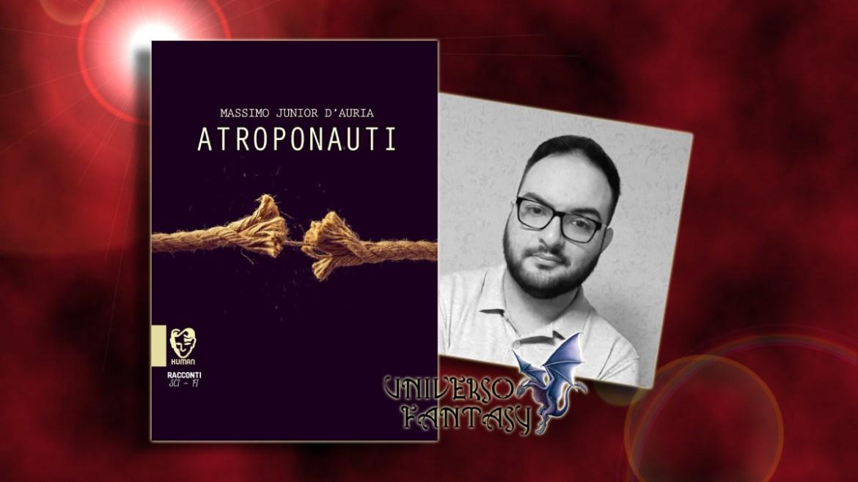 Antroponauti - M. J. D'Auria - Copertina