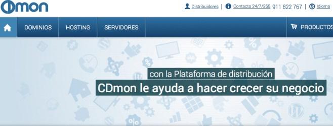 CDmon programa de Dsitribución de productos de hosting y dominios