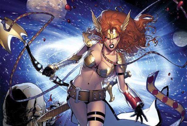 Sara Pichelli Guardians of the Galaxy #5 Angela spread