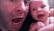 Foto padre e figlia