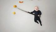 bambina ninja