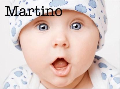 Bambino con nome Martino