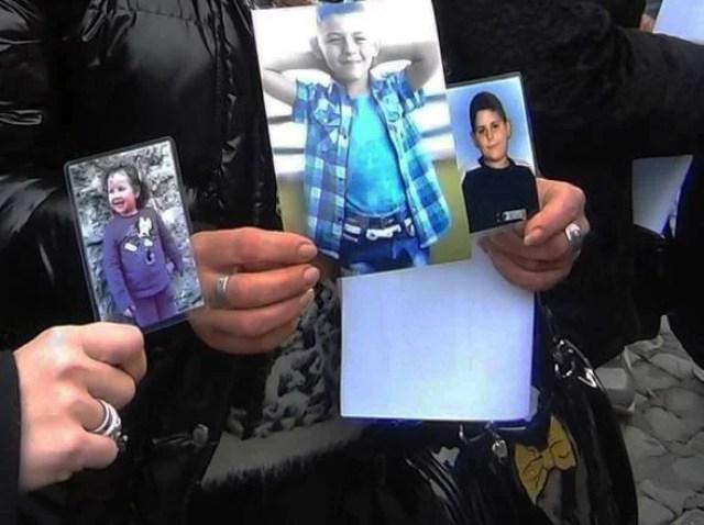 Foto dei bambini vittime della Terra dei Fuochi