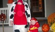 famiglia costume carnevale dalmata
