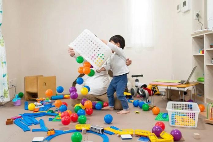 giocattoli organizzare
