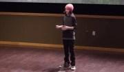 bambina conferenza