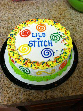 lilo e stitch torta
