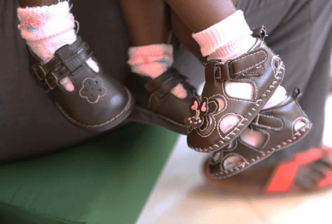 piedini bambine