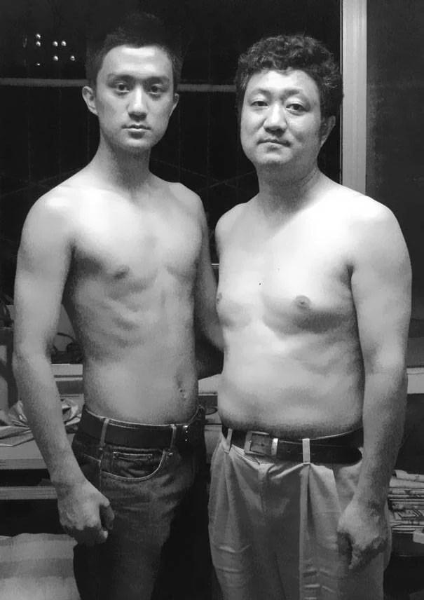 papà e figlio 2008