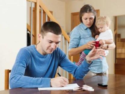 cambiamento del reddito familiare
