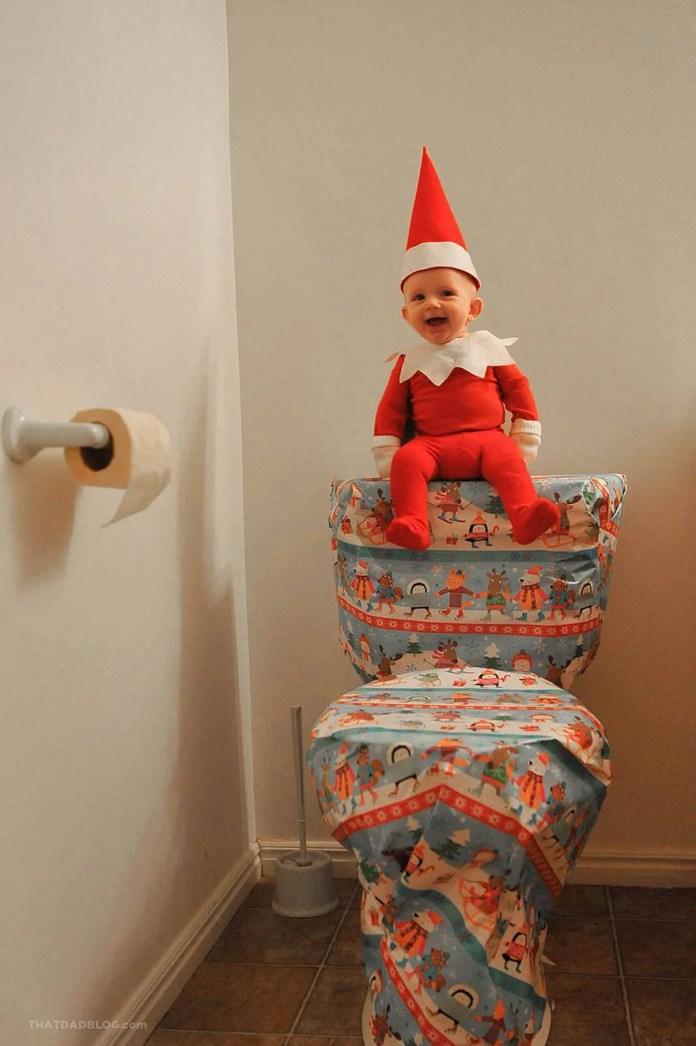 elfo su wc