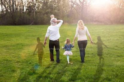 foto di famiglia per la memoria
