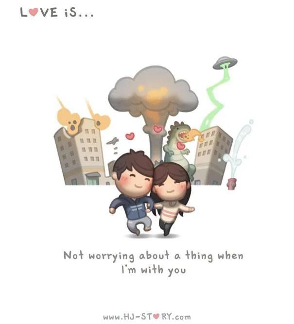 vignetta innamorati