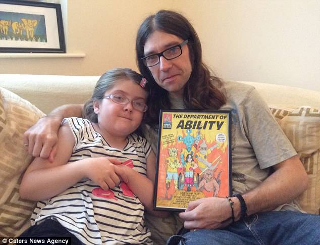 figlia disabile
