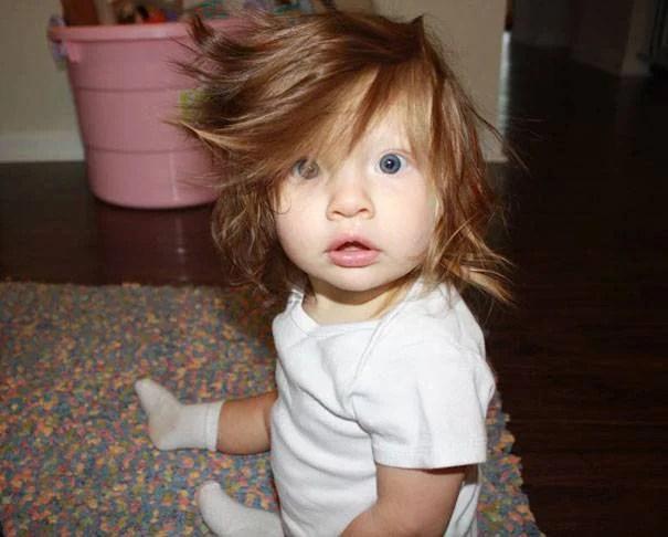 Taglio capelli neonato 8 mesi