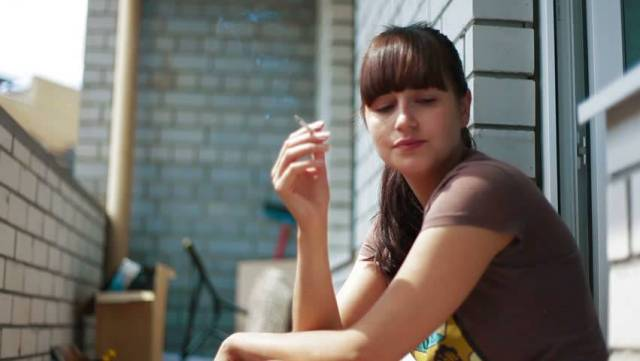 Fumare balcone