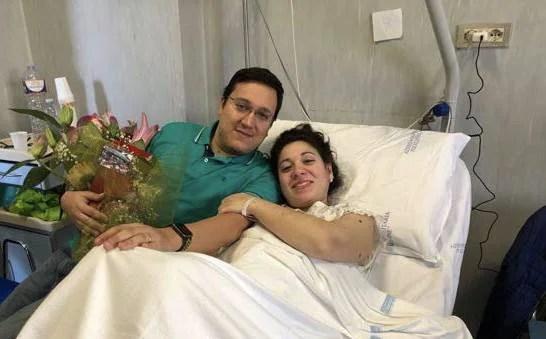 Marzia incinta leucemia
