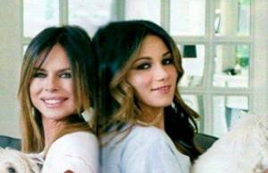 Paola Perego e Giulia
