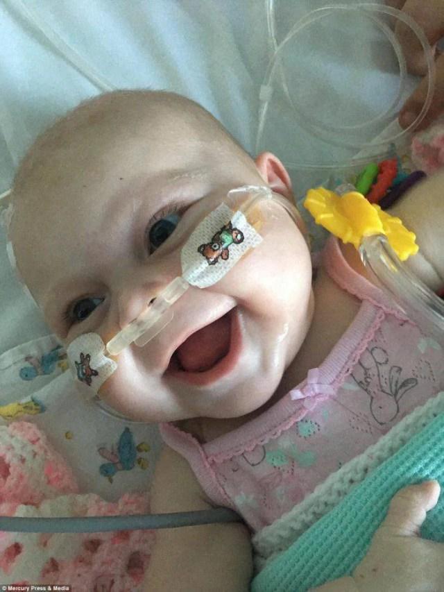 neonata senza sistema immunitario