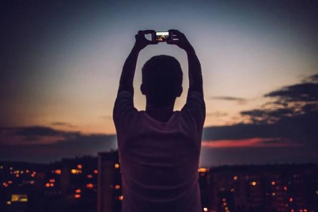 selfie estremo