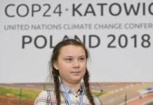 Greta Thunberg alla conferenza COP24