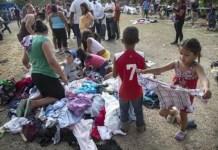 bambina morta al confine con Usa