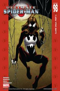 Portada de Ultimate Spider-Man #98