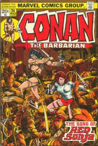 Portada Conan the Barbarian #24